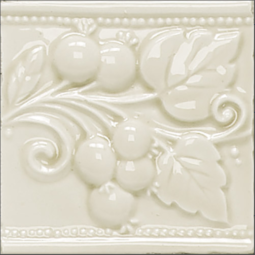 Dekor Fascia Berry Bianco Cipria jpg