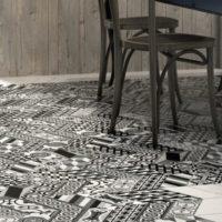 Dlažba Chevron Floor5