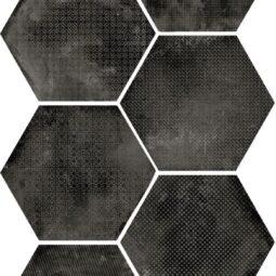 Dlažba Urban Melange Dark 25,4x29,2