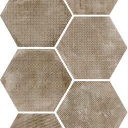 Dlažba Urban Melange Nut 25,4x29,2