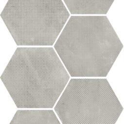 Dlažba Urban Melange Silver 25,4x29,2