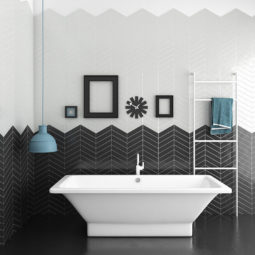 Koupelna Chevron Wall & Floor