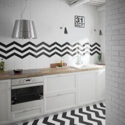 Kuchyně Chevron Wall & Floor
