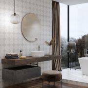 Patchwork Flores koupelna