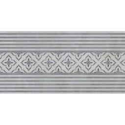 Dekor Urban gris lineal 25x75