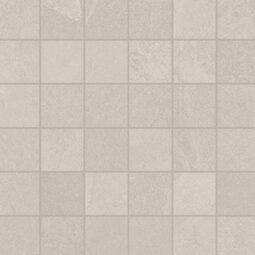 Dlažba Brazilian slate Oxford white mosaico
