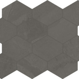 Dlažba Brazilian slate elephant grey hex.
