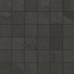 Dlažba Brazilian slate rail black mosaico