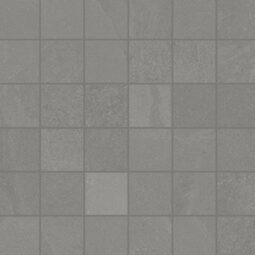 Dlažba Brazilian slate silk grey mosaico