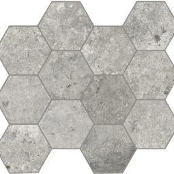 Dlažba Debris cinder hexagon 30x34