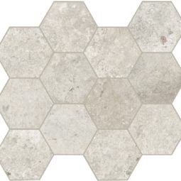 Dlažba Debris flint hexagon 30x34