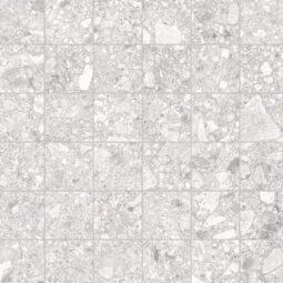 Dlažba Pietra di gré bianco mosaico 30x30