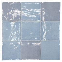 Obklad Atelier Retro 10x10 bleu lumiere