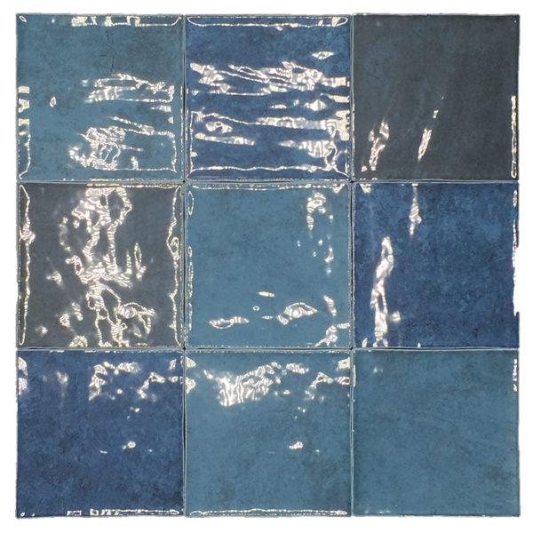 Obklad Atelier Retro 10×10 bleu marine