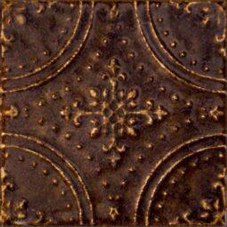 Dekor Tinta brown 14,8x14,8