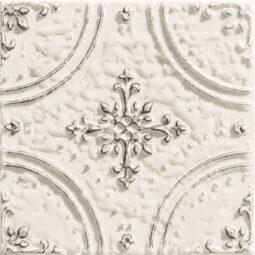 Dekor Tinta white 14,8x14,8