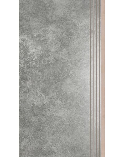Dlažba Apenino Antracyt lap. schod 29,7×59,7