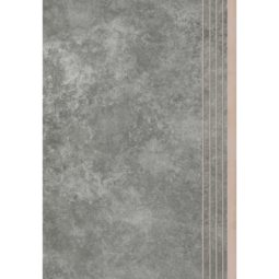 Dlažba Apenino Antracyt mat schod 29,7x59,7