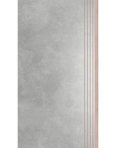 Dlažba Apenino Gris lap. schod 29,7×59,7