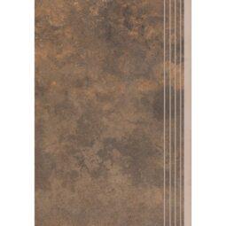 Dlažba Apenino Rust mat schod 29,7x59,7