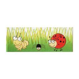 Listela Pastele broučci 1 7,4x20