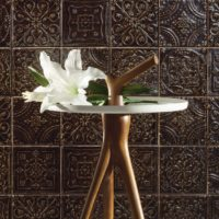 Obklad Tinta dekor brown