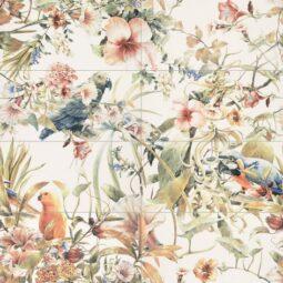 Dekor Modern Pearl Parrots 119,8x119,8 set(8ks)