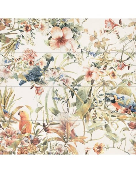Dekor Modern Pearl Parrots 119,8×119,8 set(8ks)