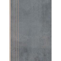 Dlažba Limeria steel schod Rekt. 29,7x59,7