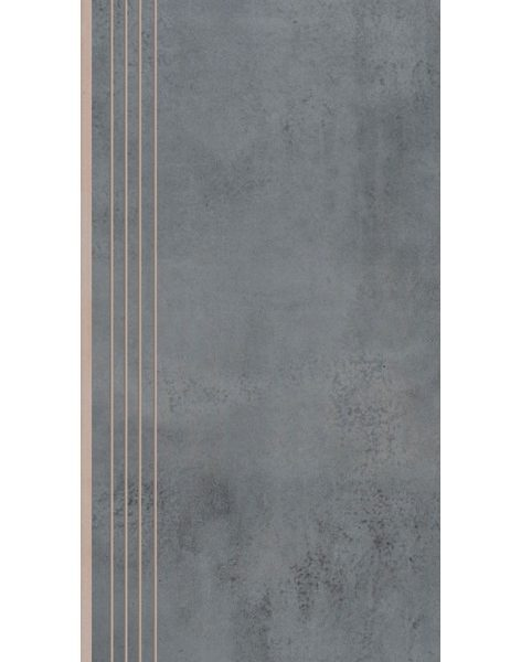 Dlažba Limeria steel schod Rekt. 29,7×59,7