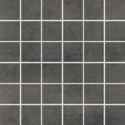 Dlažba Maxima Dark Grey Mosaic 30×30