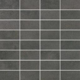 Dlažba Maxima Dark Grey Mosaic pásky 30x30