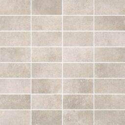 Dlažba Maxima Soft Grey Mosaic pásky 30x30