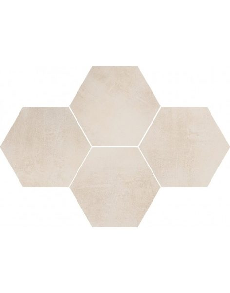 Dlažba Stark Cream Hexagon 28,3×40,8