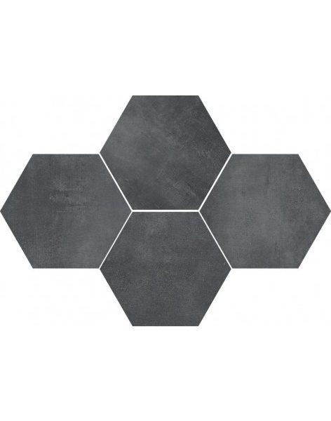 Dlažba Stark Graphite Hexagon 28,3×40,8