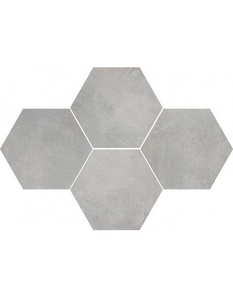 Dlažba Stark Grey Hexagon 28,3×40,8