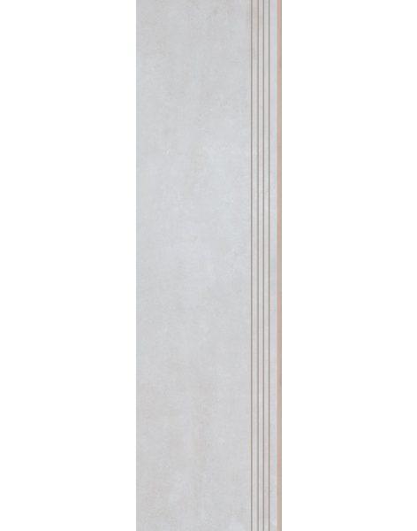 Dlažba Tassero bianco Rekt. Schod 119,7×29,7