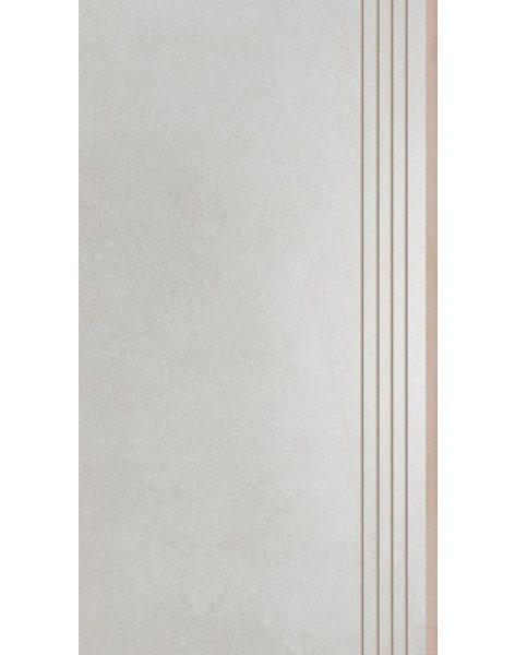 Dlažba Tassero bianco Rekt.Lap. Schod 59,7×29,7