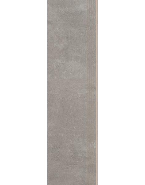 Dlažba Tassero gris Rekt. Schod 29,7×119,7