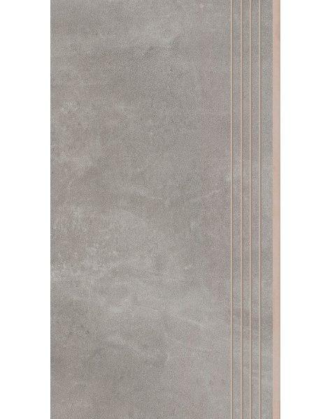Dlažba Tassero gris Rekt. Schod 29,7×59,7