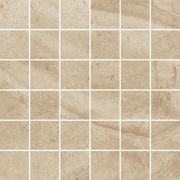 Dlažba Teakstone ochra mozaika 29,8×29,8