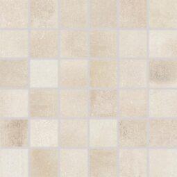 Dlažba Via light beige mozaika 30x30