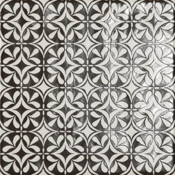 Dlažba Modena dekor Fiore 22,5×22,5