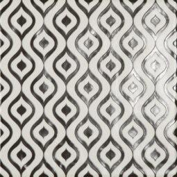 Dlažba Modena dekor Onde 22,5x22,5