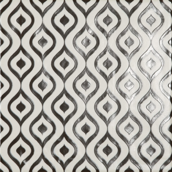 Dlažba Modena dekor Onde 22,5×22,5
