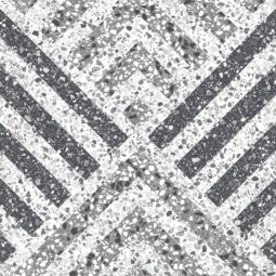 Dlažba terrazzo dekor5 25x25