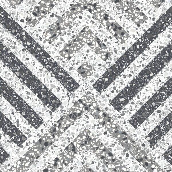 Dlažba terrazzo dekor5 25×25