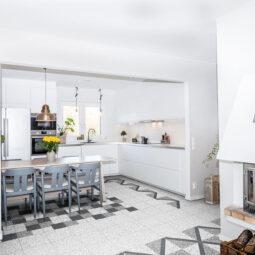 Kuchyně Retro Terrazzo