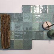 Kolekce Atelier Retro 10×10 vert d´eau