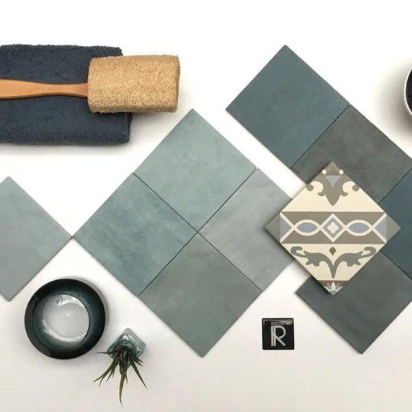 Kolekce Atelier Retro 13,8×13,8 bleu marine